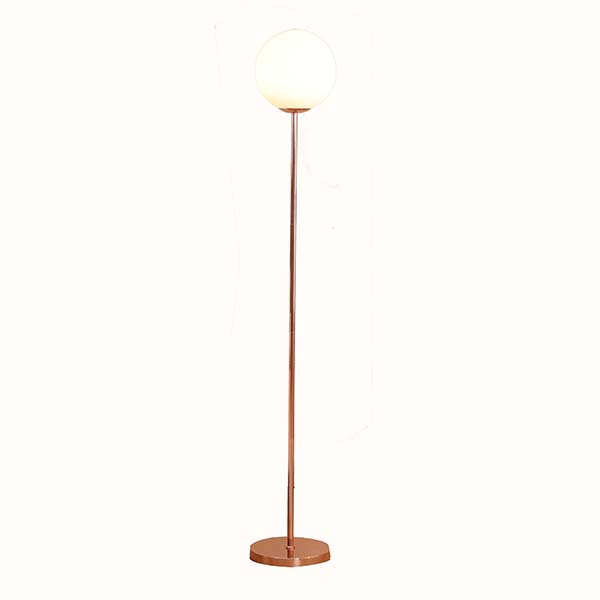 Whole Home Table Lighting Modern Gl Shade Rose Gold Torchiere Floor Lamp 65 H Flm010 Goodly