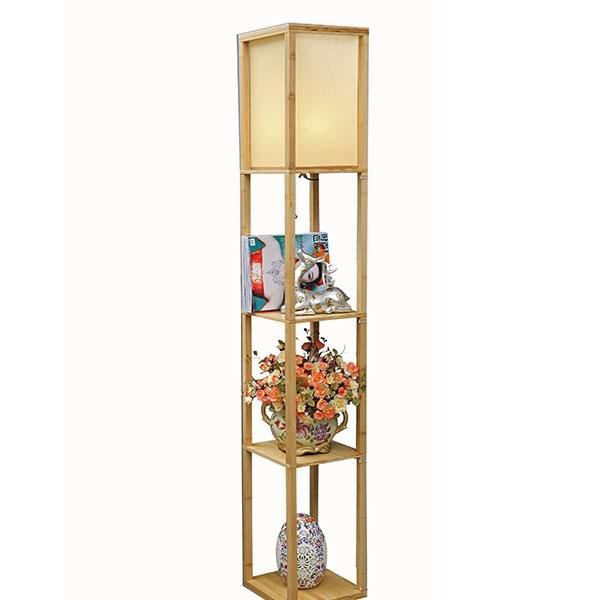 Tiffany Floor Lamp European Past Retro Style Gl