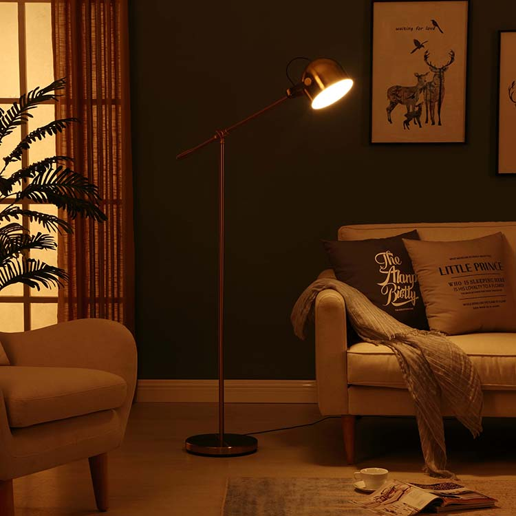 Adjustable Task LED Floor Lamp 4