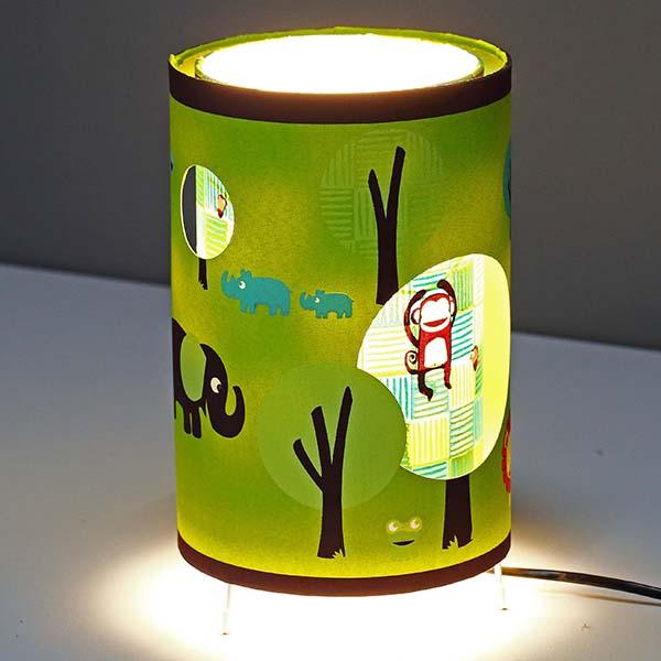 Animals shade Table Lamp 3