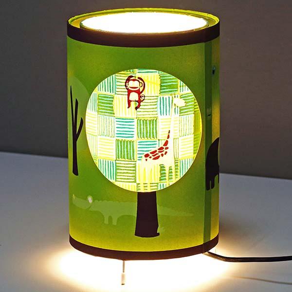 Animals shade Table Lamp 4
