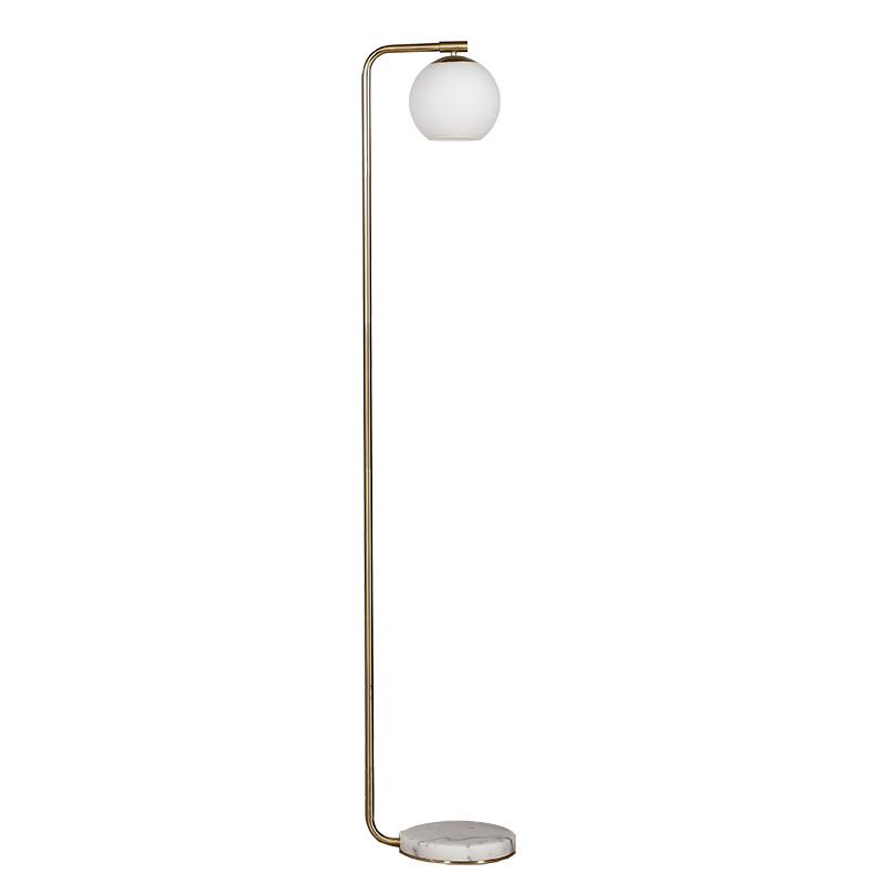 Antique Gold Floor Lamp-1