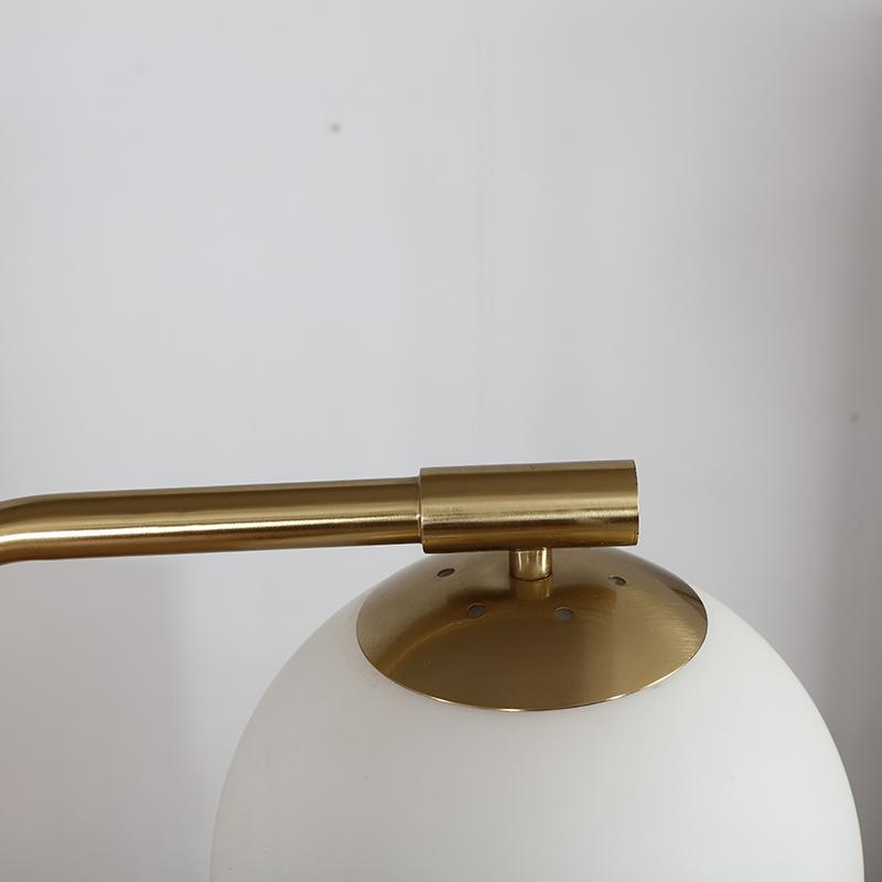 Antique Gold Floor Lamp-5