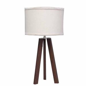 tripod table lamp wood,dark wood table lamp | Goodly Light-GL-TLW008