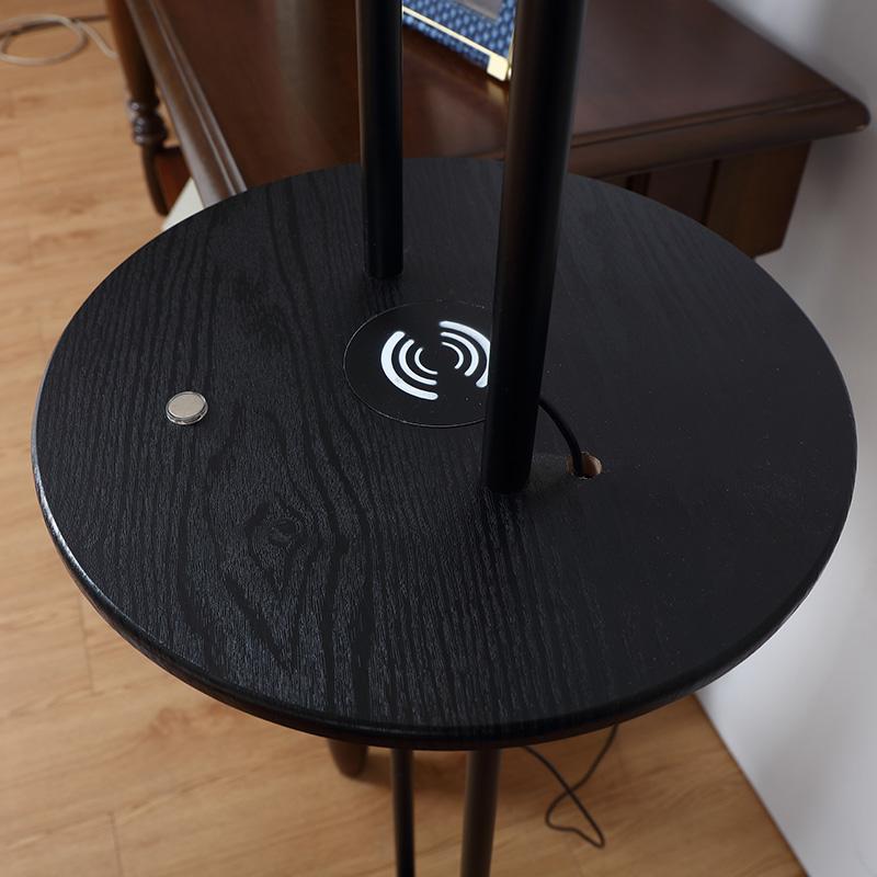 Black Metal Floor Lamp-11