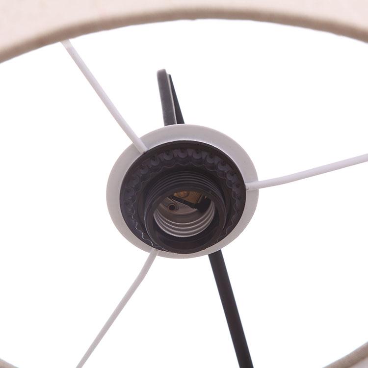 Black Tall Multiple Head Arc Lamp details 1