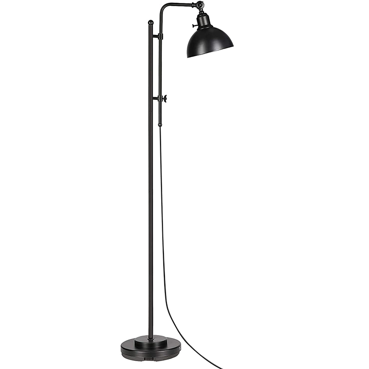 Black and Gold Floor Lamp 1