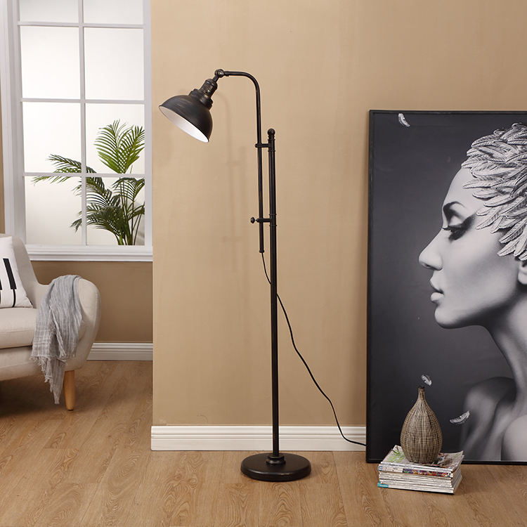 Black and Gold Floor Lamp 2