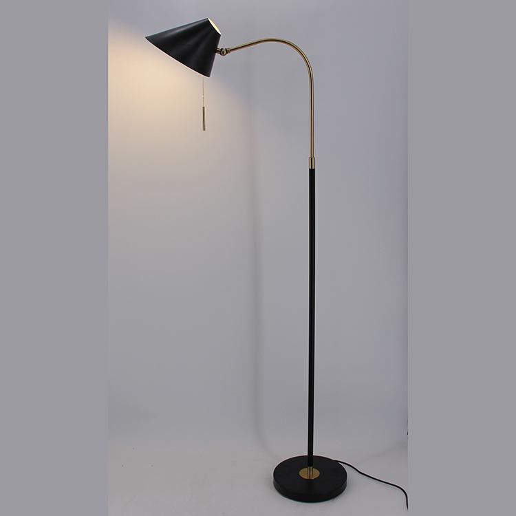 Black and Gold Floor Lamp-2