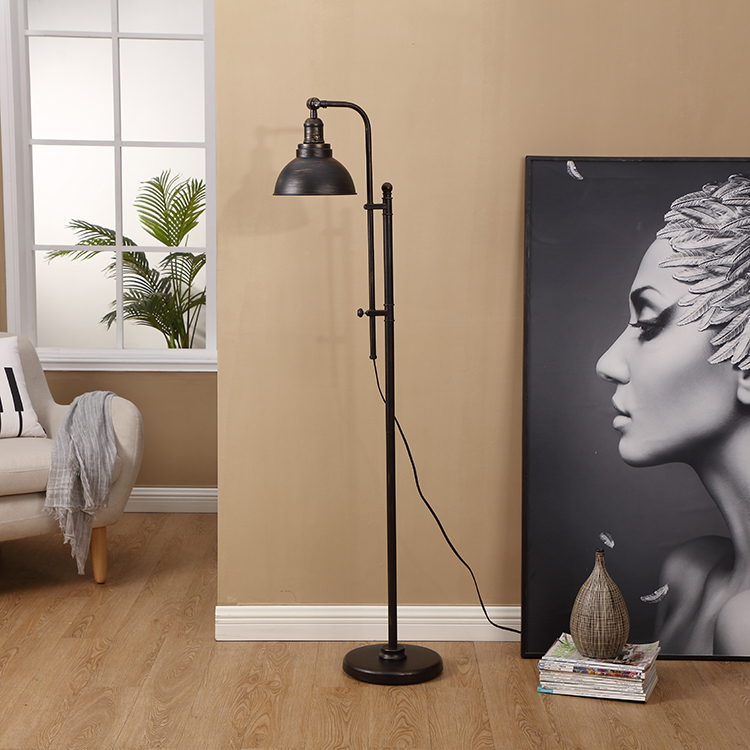 Black and Gold Floor Lamp 4