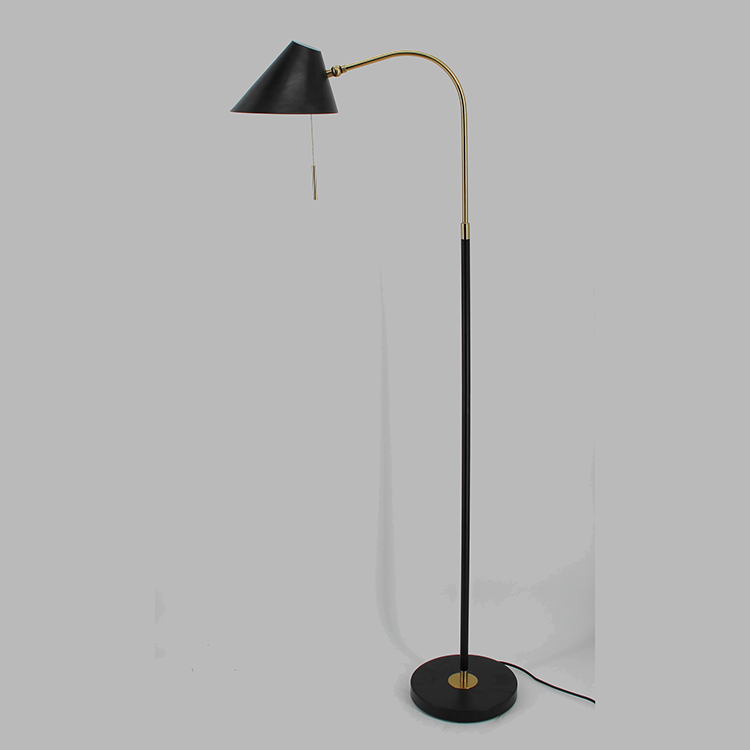 Black and Gold Floor Lamp-4