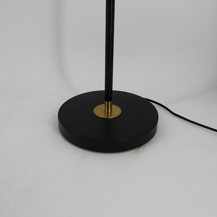 Black and Gold Floor Lamp-5