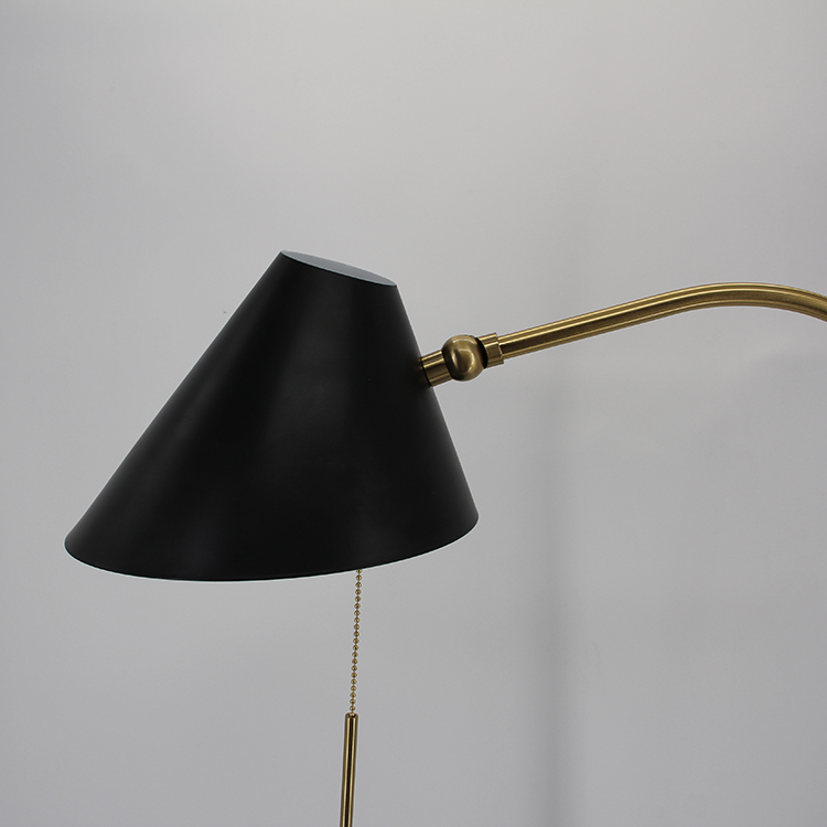 Black and Gold Floor Lamp-6