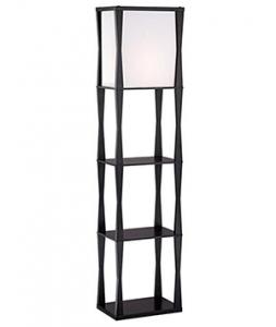 Black big Etagere Floor Lamp 1