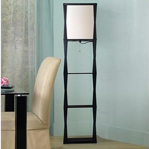 Black big Etagere Floor Lamp 3