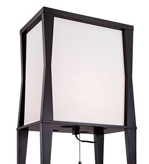 Black big Etagere Floor Lamp-detials