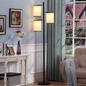 The living room isn't decorated very well?You might need a floor lamp