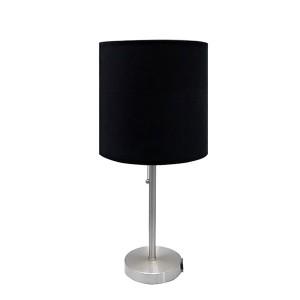 سیاہ دھات ٹیبل لیمپ |  بجلی کی دکان کے ساتھ ٹیبل لیمپ |  اچھی طرح سے لائٹ GL-TLM003