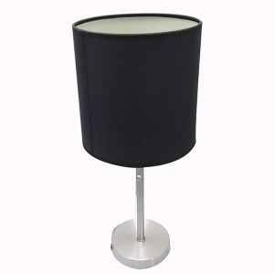 black metal table lamp   table lamp with power outlet   Goodly Light-GL-TLM003