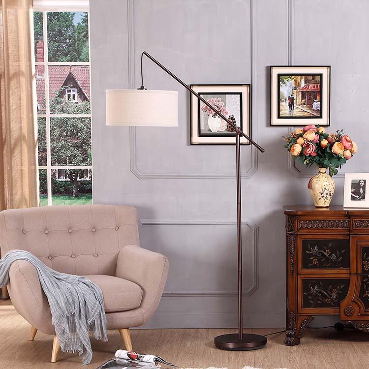 Classical Office Arc Floor Lamp 1