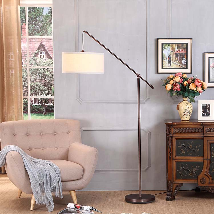 Classical Office Arc Floor Lamp 2