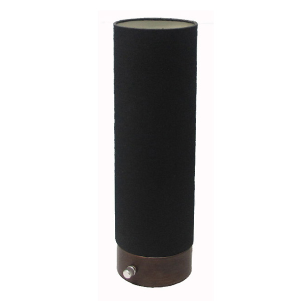 Cylinder Black Lamp Shade Night Light 1