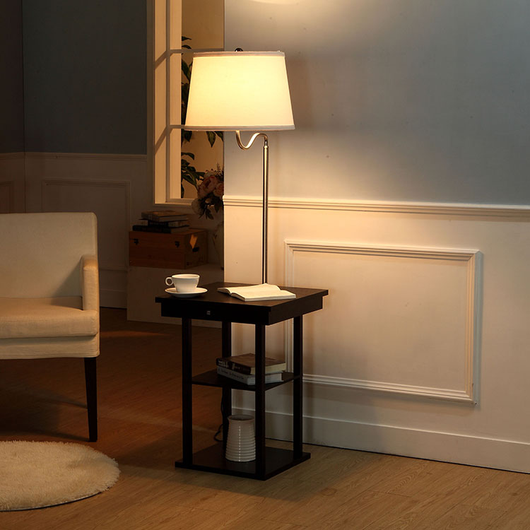 End Table Lamp-white4