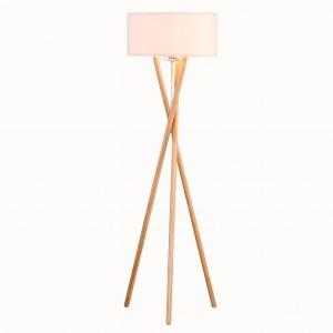 dřevěná stojací stojanová lampa , stojací stojanová lampa, moderní elegantní vnitřní osvětlení |  Dobře světlo-GL-FLW015