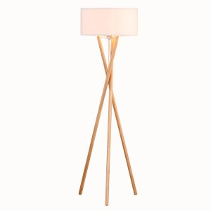 Euro Style Collection  Tripod Floor Lamp 1
