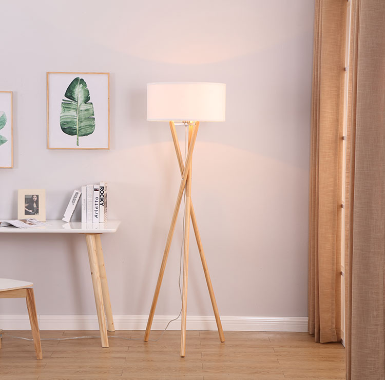 Euro Style Collection  Tripod Floor Lamp 2