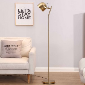 How to choose the floor lamp in the living room?Finished with it
