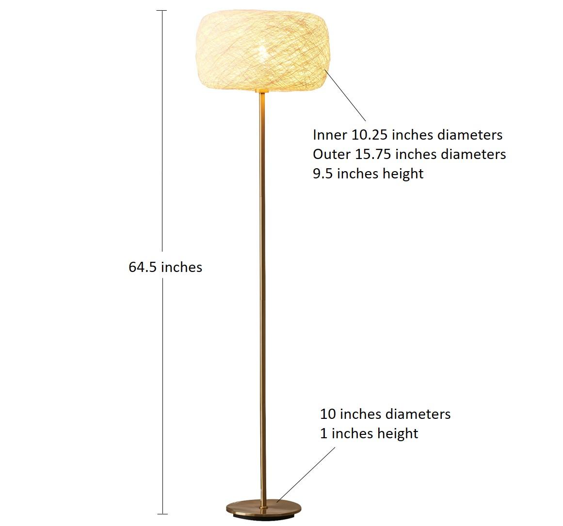Floor Lamps Brass-2