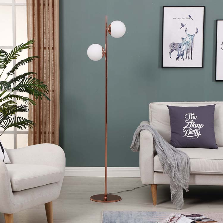 Glass Globe Lamp with Two  Lights 1