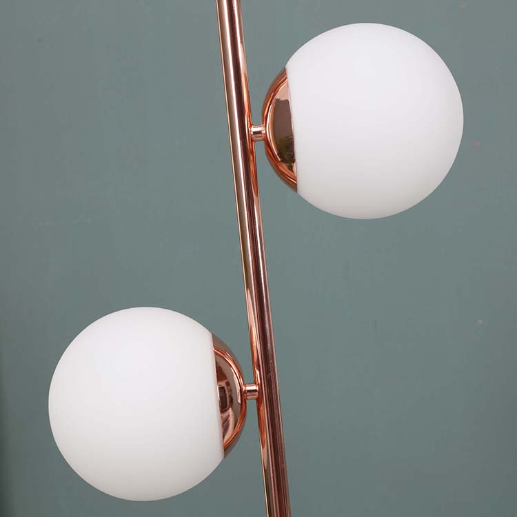 Glass Globe Lamp with Two  Lights details 1