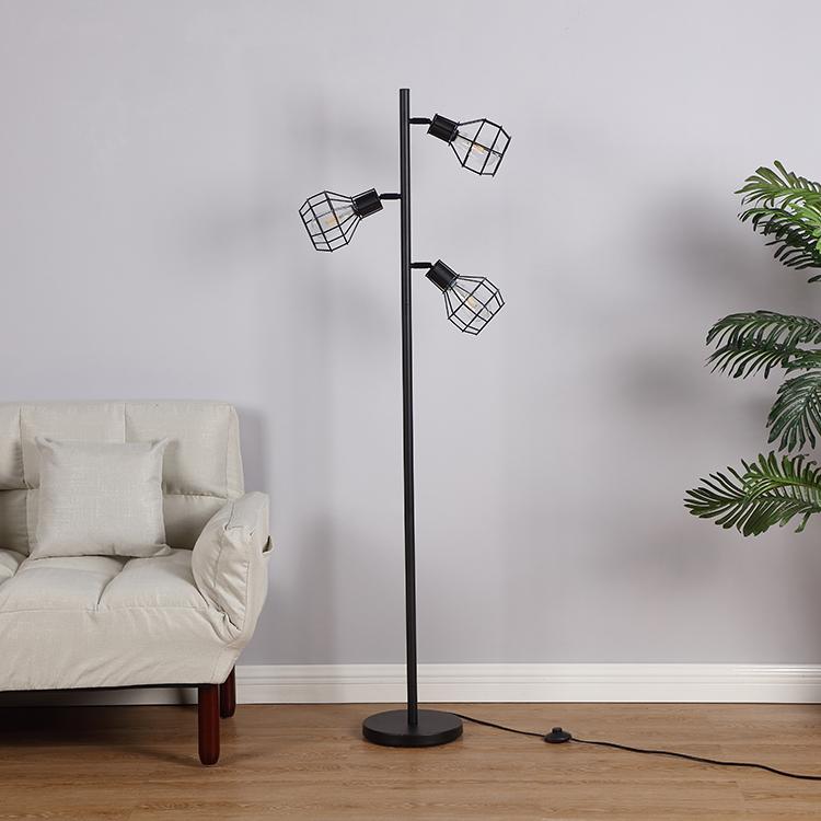 Industrial Tree Floor Lamp-2