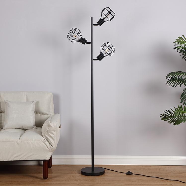 Industrial Tree Floor Lamp-3