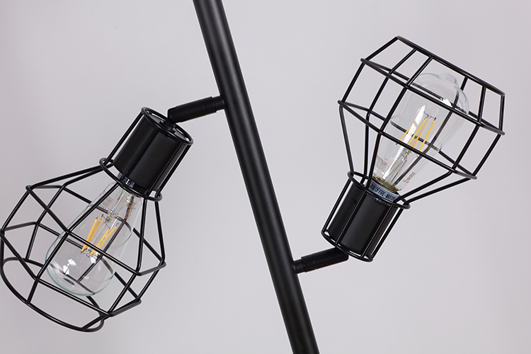 Industrial Tree Floor Lamp-6