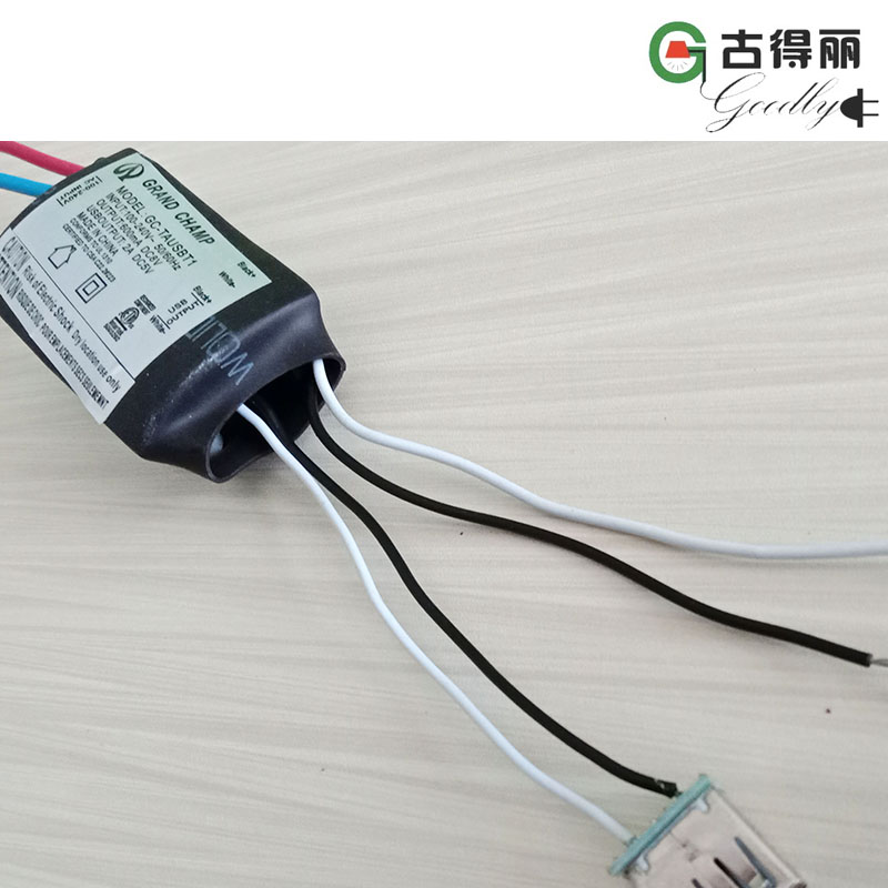 LED Adapter with 5V 2A USB