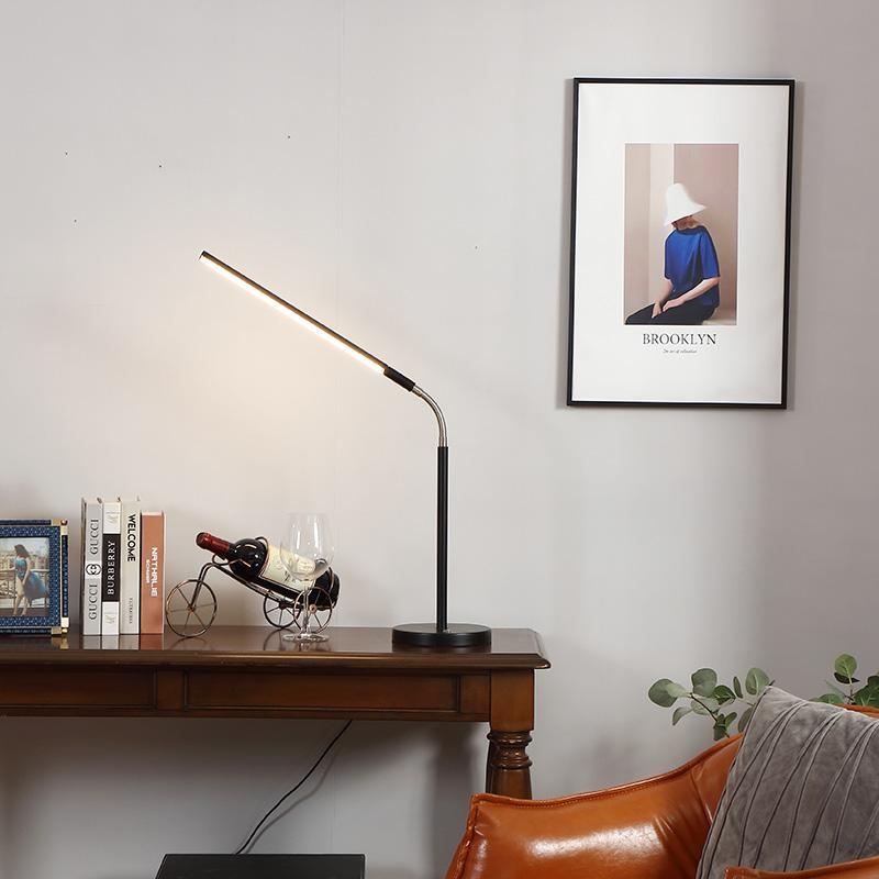LED Gooseneck Desk Lamp-4