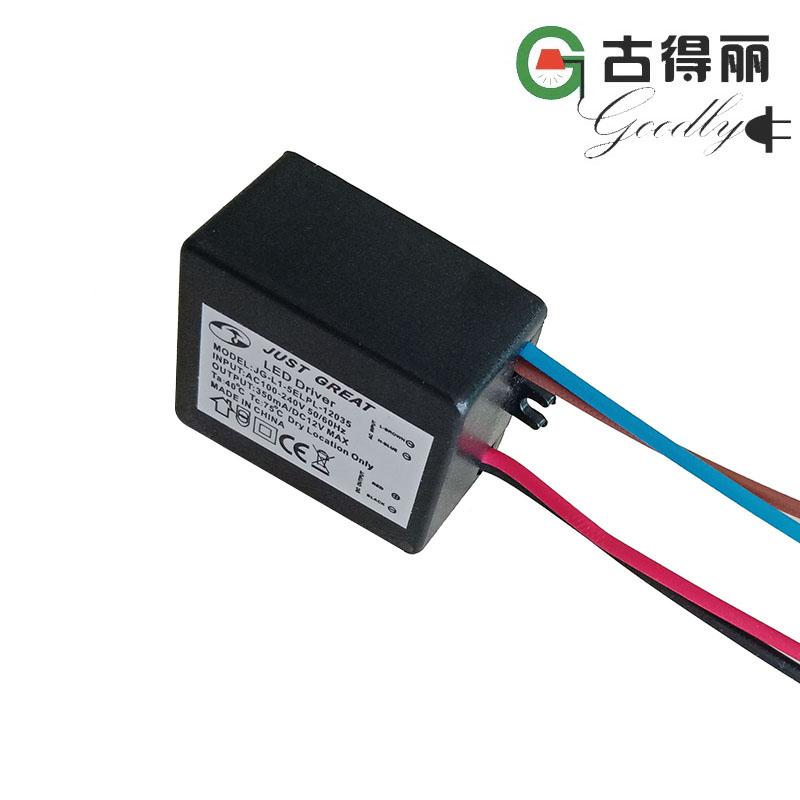 LED lamp inside Adapter