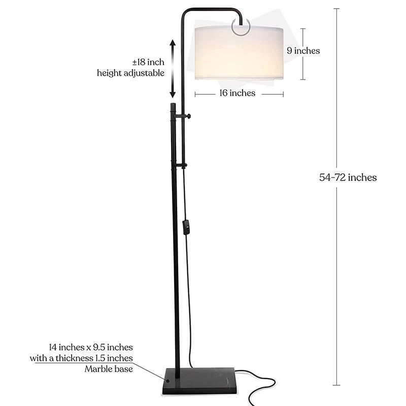 Large Metal Floor Lamp-2
