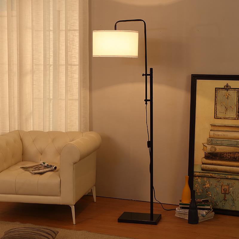 Large Metal Floor Lamp-5