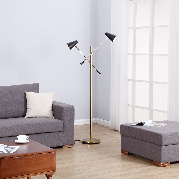 MODERN GOLD FLOOR LAMP