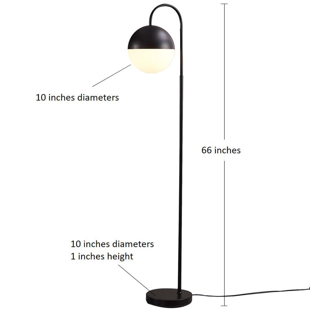 Metal Bow Floor Lamp-2