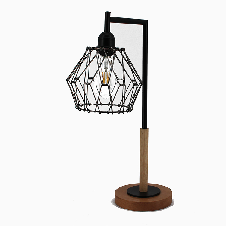 Metal Cage Table Lamp-1