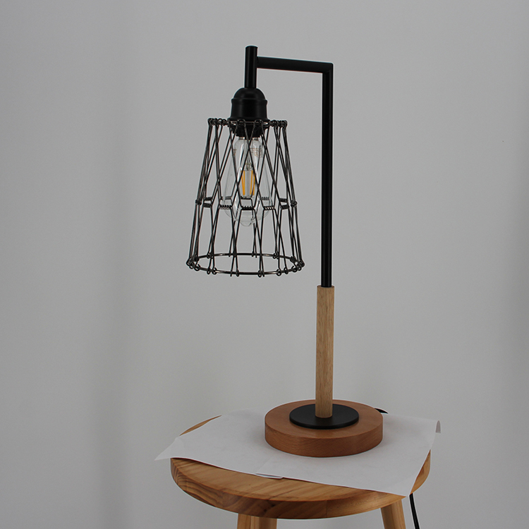 Metal Cage Table Lamp-2