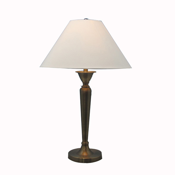 Metal Side Table, Nightstand & Desk Lamp