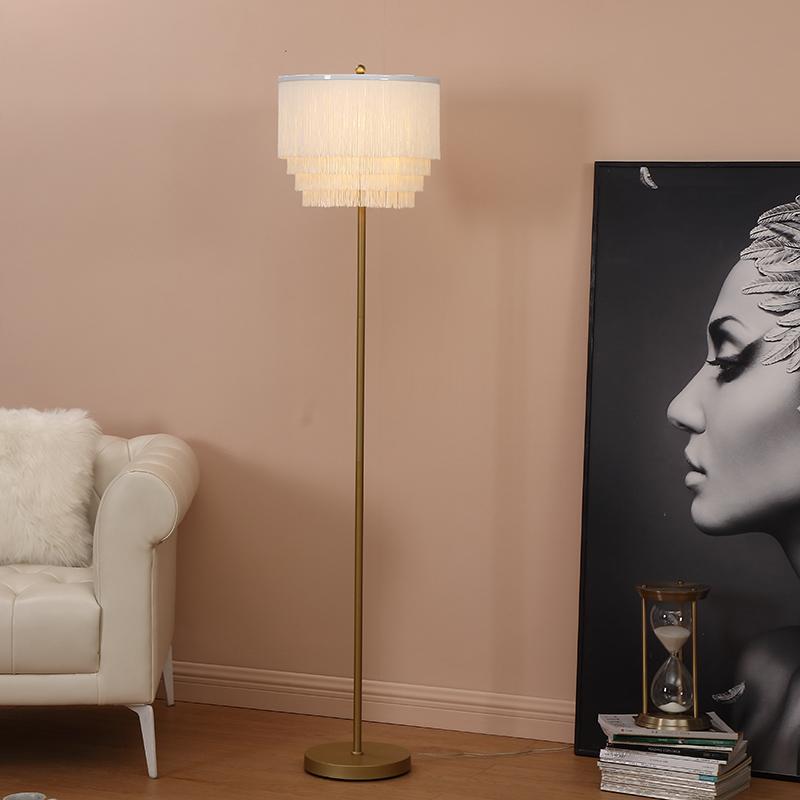 Metal Standard Lamp-3