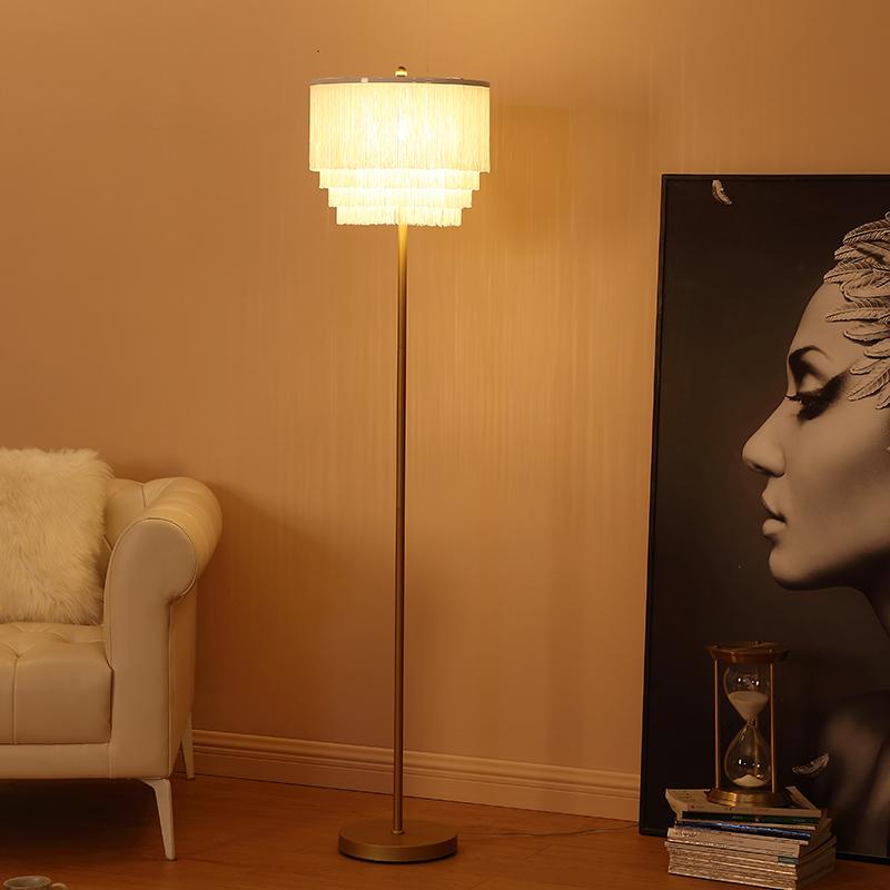Metal Standard Lamp-4