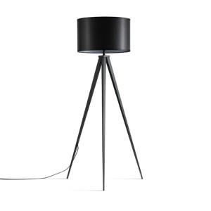 černá stativová lampa, kovová stativová lampa, Mid Century Modern |  Dobře světlo-GL-FLM018